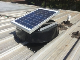 Whirlybird - roof ventilator