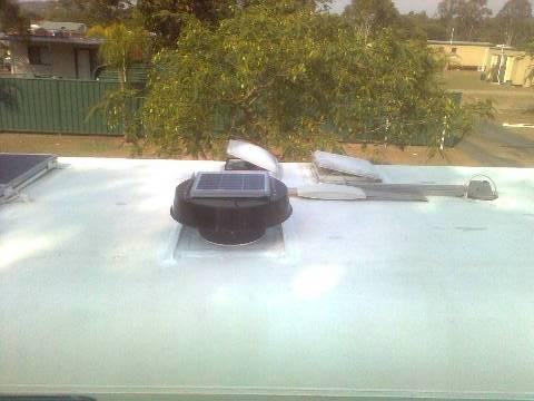 Solar Whiz Caravan Ventilation
