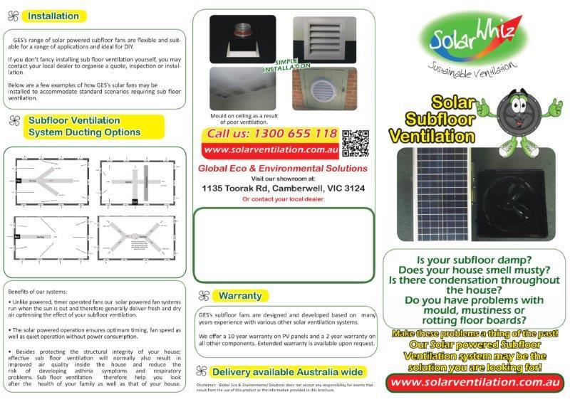 Sub Floor Ventilation System