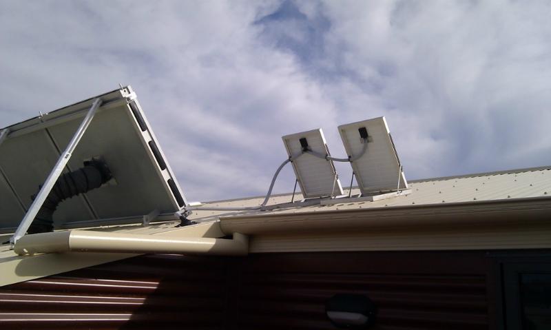 roof installed solar whiz