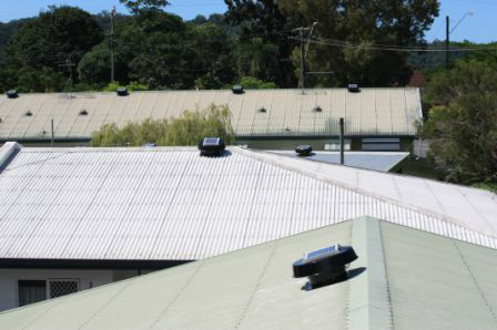 Solar Whiz Installation For Mossman Roof Ventilation