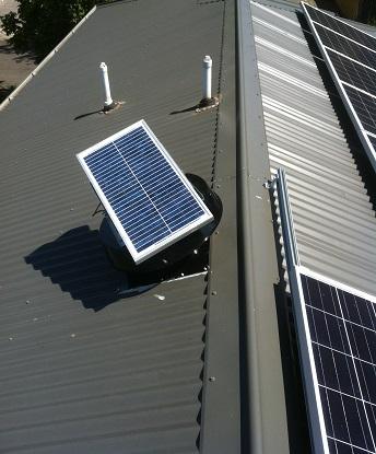 Solar Powered Fans - solar fans