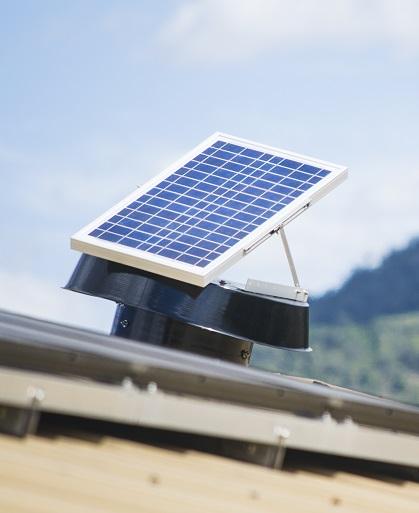 Solar Whiz - solar fans powered fans
