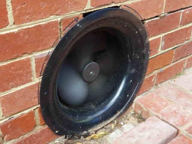 Under floor Fan in Bricks