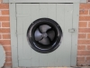 Solar Subfloor Fan Mounted In Door